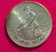1985 Engelhard American Prospector Silver Round 1 Troy Oz .999 Fine Silv... - $47.95