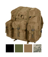 Large Military ALICE Pack, Straps & Metal Frame Waterproof Hiking Campin... - $111.99