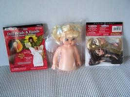 Fibre Craft Potpourri Angel Flower Poke 10 Dolls Kit w/ Instructions Pillow Doll - $15.30