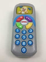 Puppy TV Remote Laugh and Learn Toy Talking Sounds Light up Fisher Price... - $13.32