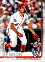 Anthony Rendon 2019 Topps Opening Day Card #182 - $0.99