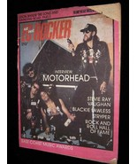East Coast Rocker February 1 1989 Motorhead Stevie Ray Vaughan Blackie L... - $16.99
