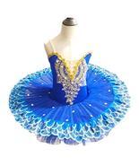 Panda Legends Girls Sequined Ballet Tutu Dress Kids Flower Skirt Balleri... - $36.99