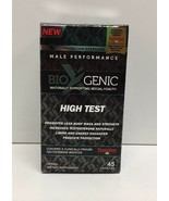 (New) BioXgenic High Test Male Performance - 45 caps EXP  09/2020 - $22.76