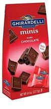 Ghirardelli Minis Pouch, Dark Chocolate, 4.4 oz (Pack Of 6) - $59.99