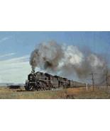 Canadian National Railway 5107 Contic Quebec Canada postcard - £4.47 GBP