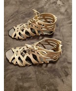 GOLD SANDALS - BRAND NEW WITH TAG - $25.00