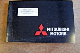 1999 mitsubishi galant owners manual parts new original factory reprint - $16.58