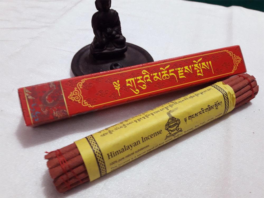 Guru Himalayan Ancient Tibetan Prayer Incense