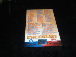 1995 DC Versus Marvel Fleer SkyBox Card Checklist - $1.49