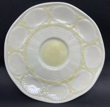 Belleek Parian NEW SHELL YELLOW Saucer ONLY (For flat cup) 6th Mark 20-1662 - $18.95
