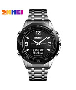SKMEI Mens Digital Watches Military Compass Sport Watches Countdown Wate... - $39.58