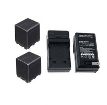 Two 2 Batteries + Charger For Panasonic HDC-TM80P HDC-TM80PC HDC-SD40 HDC-SD40P - $71.95