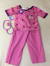 Doc McStuffins Scrubs Role Play Set, Size 4-6X Halloween Costume - $33.62