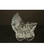 Cristal Baby Carriage- Pram Lead Crystal by Cristal d Arques, France - $4.99
