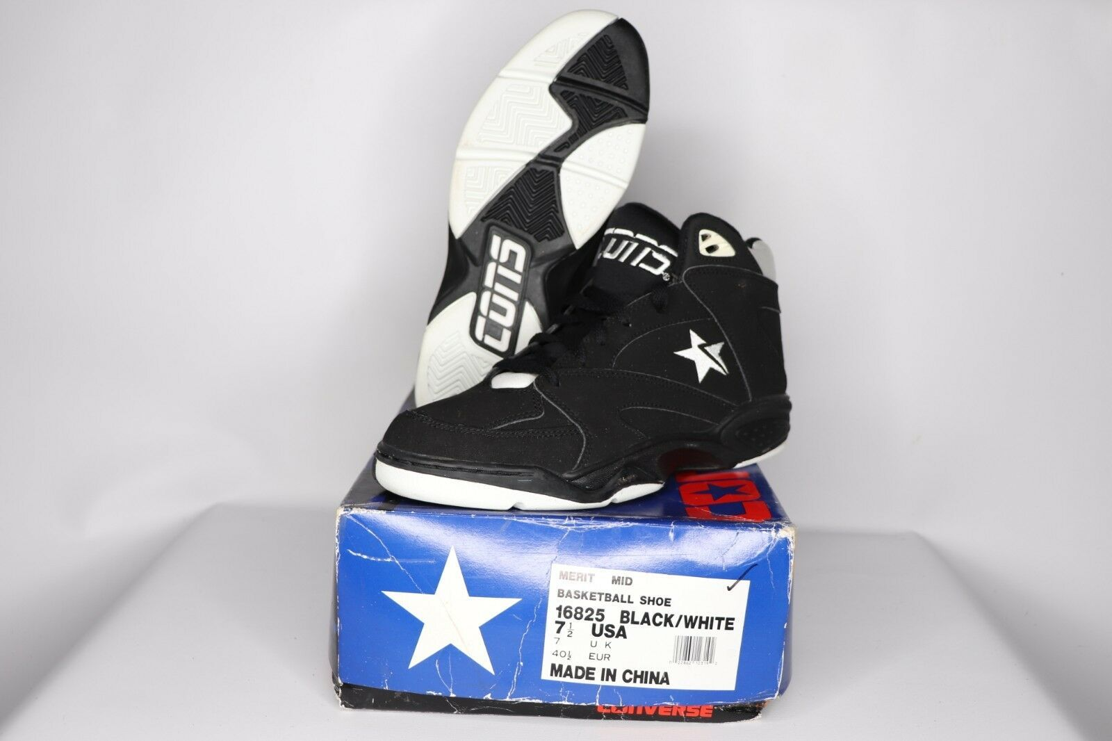 2fb9b056343f Vtg 90s New Converse Mens Size 7.5 Merit Mid and 50 similar items. 57