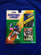 Barry Sanders - 1992 Starting Lineup NFL Football action figure - LIONS - $11.35