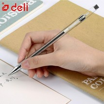 Deli® Pens 12 Pcs/set Black Ink Gel Pen 0.5mm Writing Neutral Pens New A... - $13.78