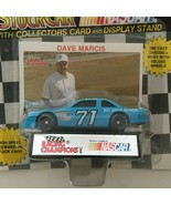 Racing Champions Dave Marcis #71 Nascar Stock Car Toy Blue w/ Display St... - $4.26