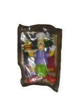 2007 Burger King Simpsons Movie Figure Krusty the Clown NIP / Package Unopened - $4.94
