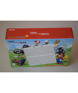 New Nintendo 3DS Super Mario White Edition Game System Console Retail Pa... - $237.59
