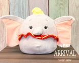 "Kellytoy Squishmallow for Disney 10"" Dumbo LT ED HTF RARE NEW Plush Toy Animal  - €33,69 EUR"