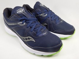 Saucony Grid Cohesion 11 Men's Running Shoes Sz US 9 M (D) EU 42.5 Navy S20420-1