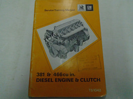 1971 GM 381 & 466 cu In Diesel Engine Clutch Service Repair Shop Trainin... - $34.64