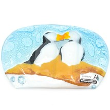 Fused Art Glass Puffin Bird Design Orange Soap Dish Handmade Ecuador image 2