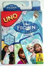 New Disney Frozen UNO Card Game W Special Rule & 4 Extra Cards 2-10 Play... - $4.90