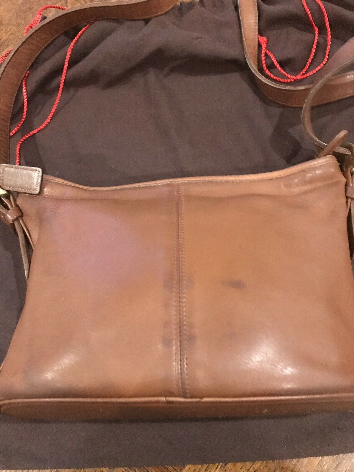 Coach Worth Soho Brown 4143 Shoulder Bag