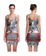 He-Man and the Masters of the Universe Women Sexy  Bodycon Fit Dress - $19.80+
