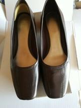 Easy spirit 6.5 M Esilene Brown Leather Shoes - $24.70