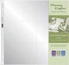 We R Memory Keepers 12 x 12 In 6- 4 x 6-In pock... - $4.94