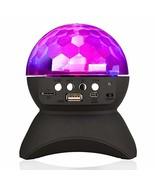 Home Party Light Speaker LED Rotating Crystal Magic Ball DJ Stage Lighti... - $29.89
