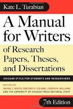 A Manual for Writers of Research Papers, Theses, and Dissertations, Seve... - $4.93