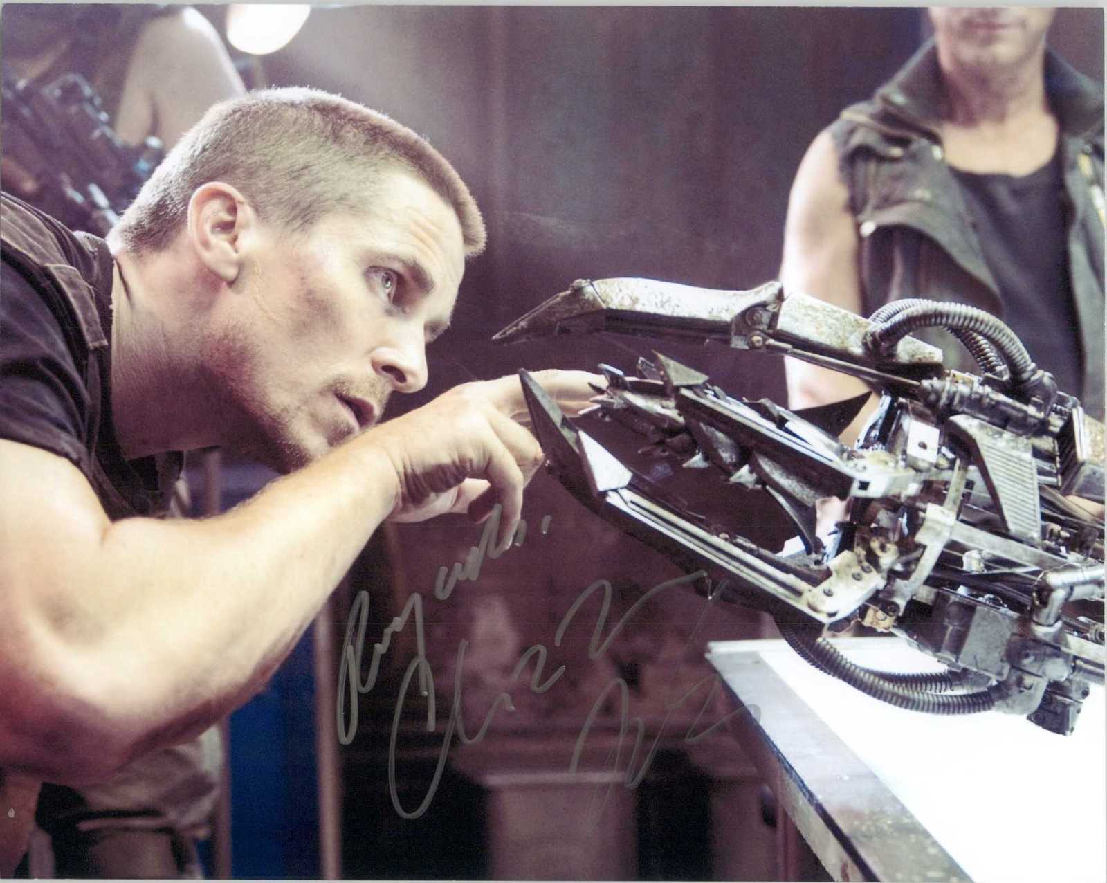 "Primary image for Christian Bale Signed Autographed ""Terminator Salvation"" Glossy 8x10 Photo"