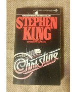 CHRISTINE by Stephen King 1983 First Edition 1st Printing Signet Paperback PB