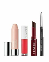 NEW CLINIQUE 4 piece Travel Set for Eyes & Lips - $25.99