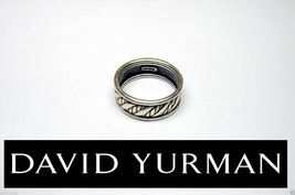 Genuine David Yurman Sterling Silver Classic Cable RING-SZ 11 ~ 8gr - $188.65