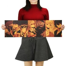 Classic Anime Tokyo Ghoul Character Poster Retro Kraft Paper Wall Sticker 1PC - $11.48