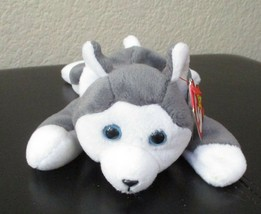 Ty Beanie Baby Nanook the Husky 5th Generation Hang tag Dented - $4.94