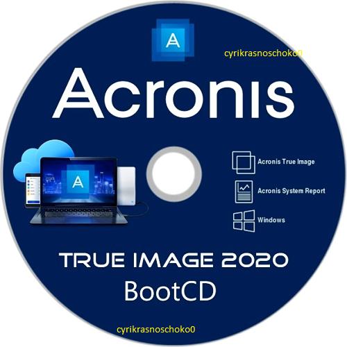 Acronis True Image 2020 Latest Version Bootable ISO Image