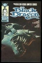 BLACK DRAGON #4 1985-MARVEL COMICS-LIMITED SERIES VF - $18.62