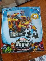 Marvel Super Hero Squad Puzzle 25 Pieces Complete - $9.90