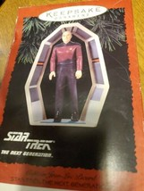 HALLMARK KEEPSAKE ORNAMENT STTNG CAPTAIN JEAN LUC PICARD MIB 1995 STAR TREK - $6.93