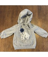 Baby GAP Infant Boys Sweater Grey with Bulldog EUC Size 3-6months - $11.88