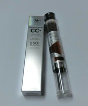It Cosmetics CC+ Full Coverage Cream & Dual-Ended Flawless Complexion Brush #132 - $52.00