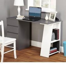Modern Desk - Home Office Furniture in Gray/White - Writing Desk - $189.99