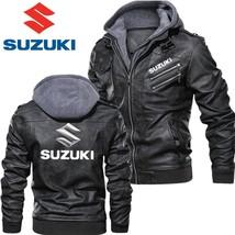 Men's Fashion SUZUKI Jacket Sweatshirts Women Winter Thick - $61.11+